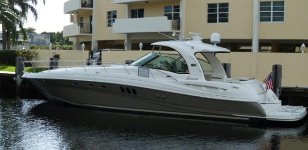 48ft 2005 Searay Low Miles